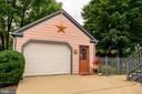 Garage with storage - 324 LOUDOUN ST SW, LEESBURG