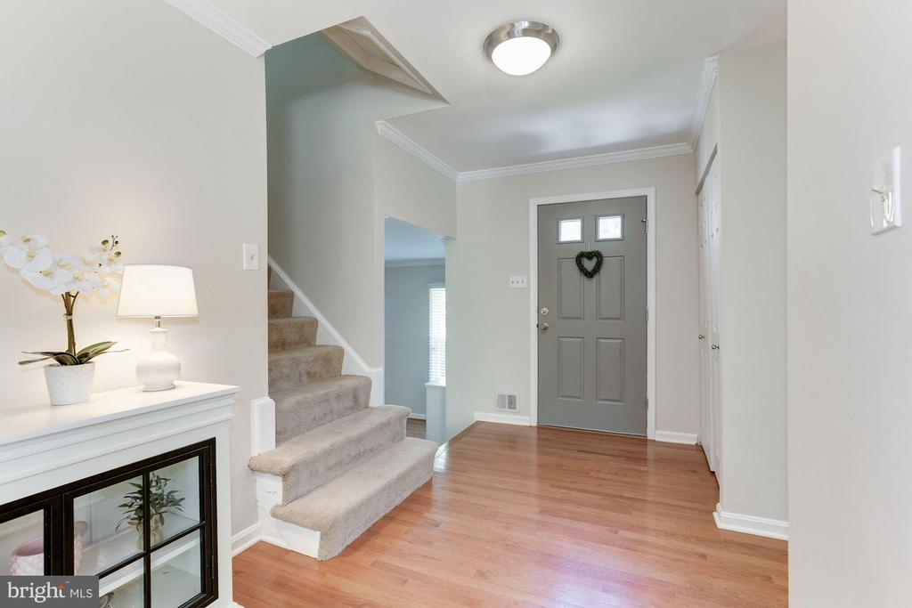 Foyer - Spacious, Warm, & Welcoming! - 12335 COLERAINE CT, RESTON