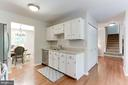 Kitchen Features Very Large, Double Wide Pantry - 12335 COLERAINE CT, RESTON