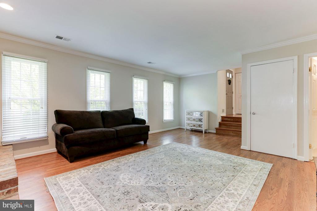 Family Room - 12335 COLERAINE CT, RESTON