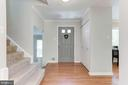 Inviting Foyer! - 12335 COLERAINE CT, RESTON