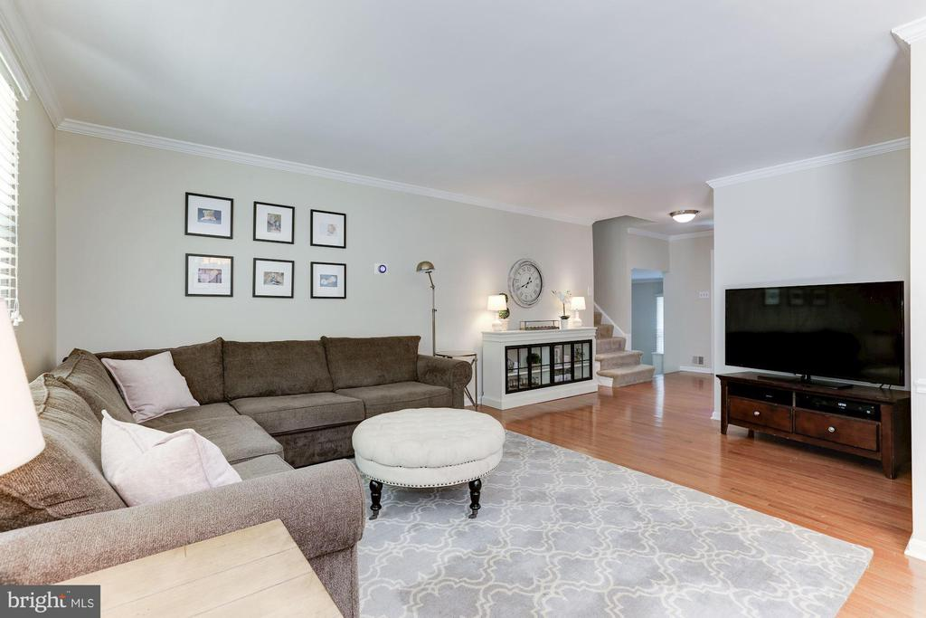 Living Room - 12335 COLERAINE CT, RESTON