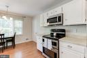 Kitchen - Stainless Steel Appliances - 12335 COLERAINE CT, RESTON