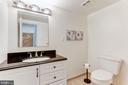 Half Bathroom - Beautifully Upgraded & Spacious - 12335 COLERAINE CT, RESTON