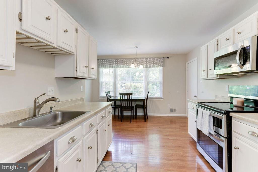 Kitchen - Hardwood Floors - 12335 COLERAINE CT, RESTON