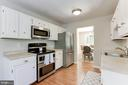 Kitchen - Plentiful Counter Top Space! - 12335 COLERAINE CT, RESTON