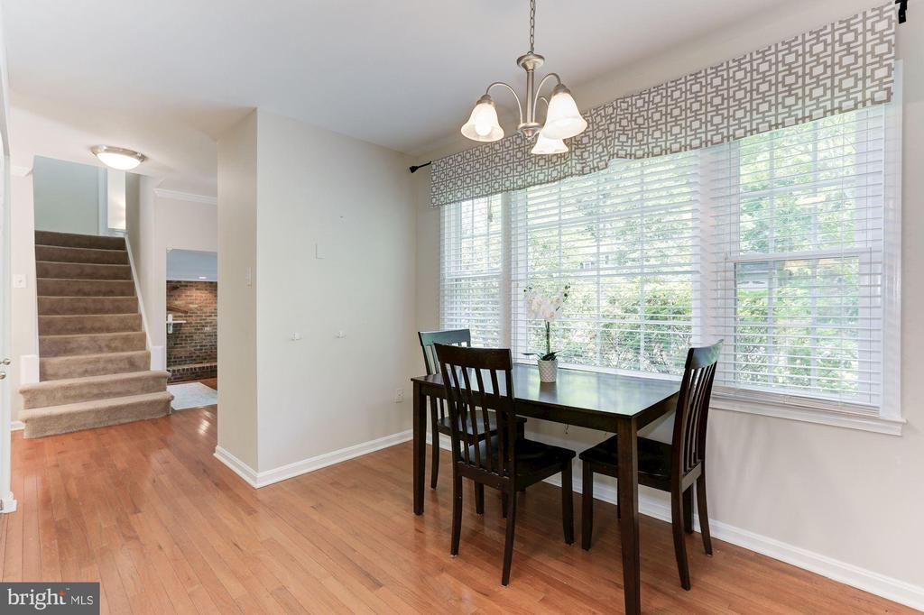 Kitchen - Overlooks Beautiful Landscaped Gardens - 12335 COLERAINE CT, RESTON
