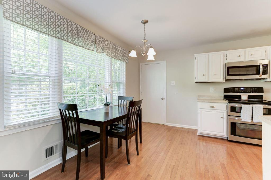 Kitchen Features Eat-In, Informal Dining Space! - 12335 COLERAINE CT, RESTON