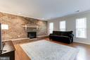 Family Room Receives Fantastic Sunlight! - 12335 COLERAINE CT, RESTON