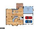 Main level floor plan - 6912 WINTER LN, ANNANDALE