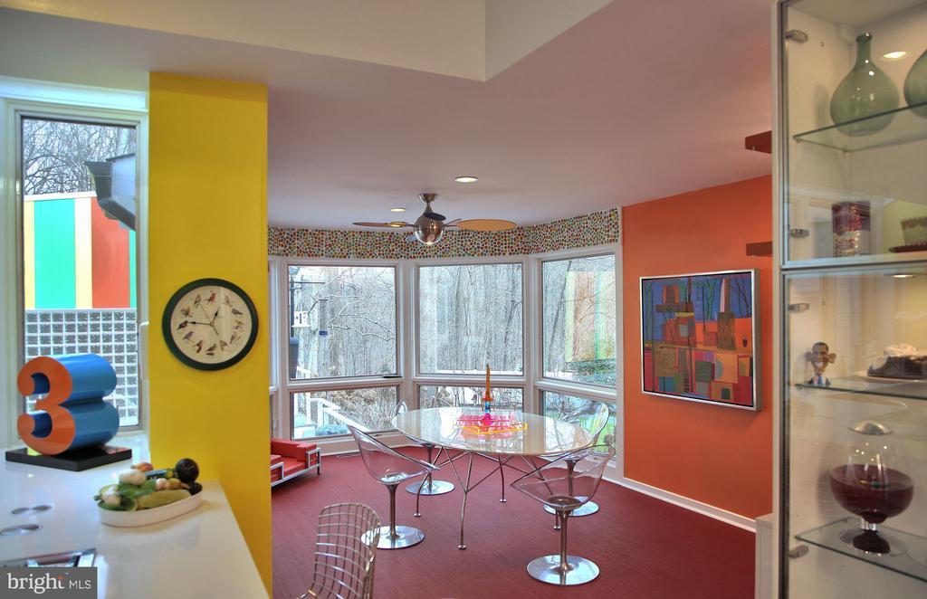 Kitchen/Breakfast Room - 12820 RIVER RD, POTOMAC