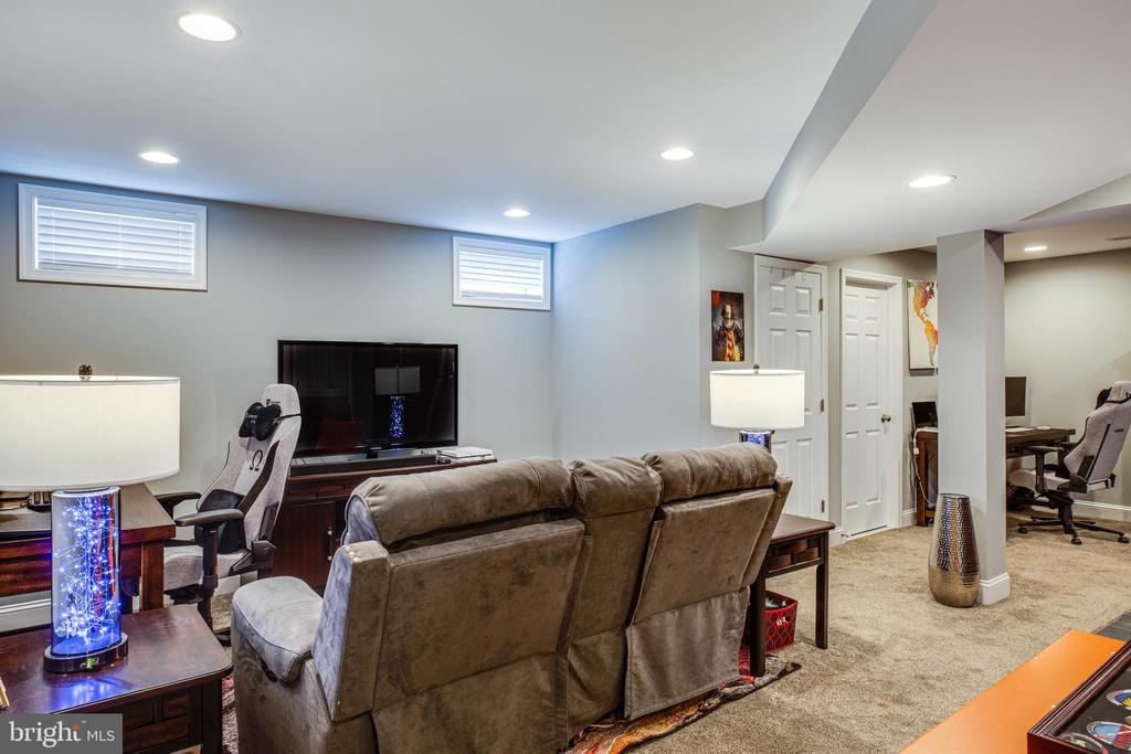 Basement Family Room - 1911 MARTINA WAY, CULPEPER