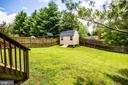 Backyard - 1911 MARTINA WAY, CULPEPER
