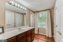 Large Vanity Space in Master - 12306 FOLKSTONE DR, HERNDON
