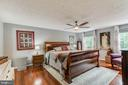 Spacious Master Suite with Ceiling Fan - 12306 FOLKSTONE DR, HERNDON
