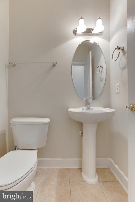 Half Bath -Lower level - 525 ODENDHAL AVE, GAITHERSBURG