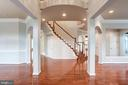 Foyer. - 9668 MAYMONT DR, VIENNA