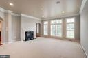 Family Room w/Fireplace - 9668 MAYMONT DR, VIENNA
