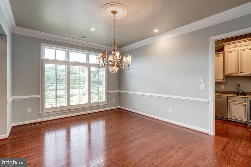 Formal Dining Area - 9668 MAYMONT DR, VIENNA