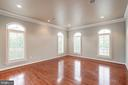 Playroom/Office/Study on Main Level - 9668 MAYMONT DR, VIENNA