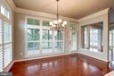Eat In Area off the Kitchen - 9668 MAYMONT DR, VIENNA