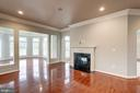 Another Fireplace - 9668 MAYMONT DR, VIENNA