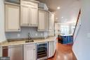Butlers Pantry off the Kitchen w/Wine Cooler - 9668 MAYMONT DR, VIENNA