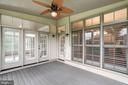 Screened In Porch - 9668 MAYMONT DR, VIENNA