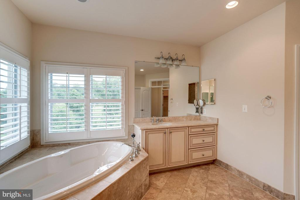 Master Bath with Tub - 9668 MAYMONT DR, VIENNA