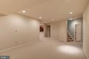 Finished Lower Level - 9668 MAYMONT DR, VIENNA