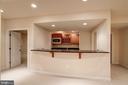 Mini Kitchen Lower Level - 9668 MAYMONT DR, VIENNA
