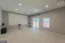 BASEMENT/ MOVIE THEATER - 46784 SOUTHERN OAKS TER, STERLING
