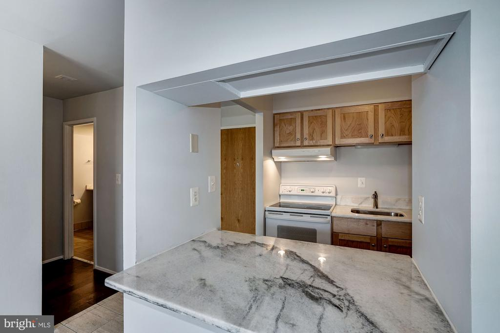 Kitchen - Brand New Granite Counter Tops! - 1808 OLD MEADOW RD #1416, MCLEAN