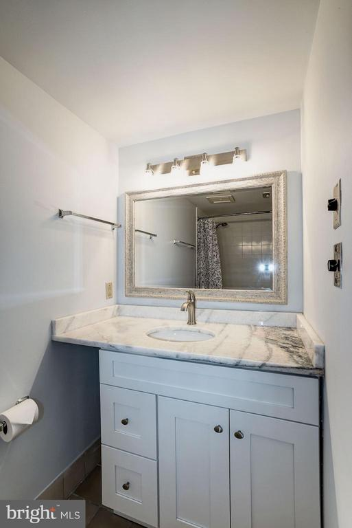 Bathroom - Brand New Mirror & 3 Bulb Light Fixture - 1808 OLD MEADOW RD #1416, MCLEAN