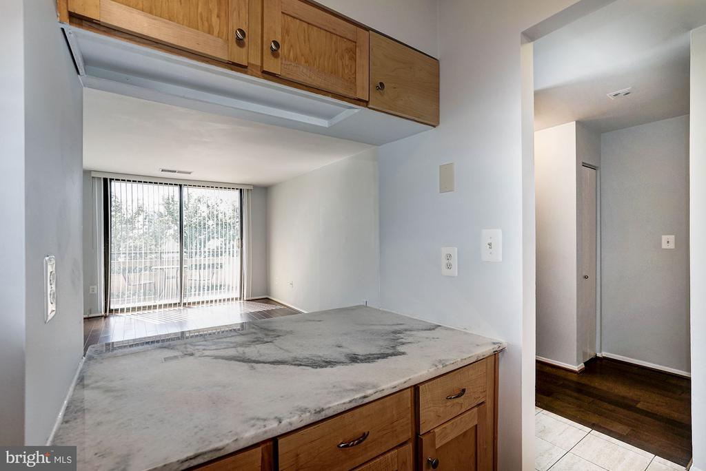 Kitchen - Loads of Counter Top Space for Meal Prep - 1808 OLD MEADOW RD #1416, MCLEAN