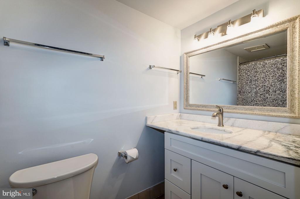Bathroom - Brand New Vanity & Granite Counter Top! - 1808 OLD MEADOW RD #1416, MCLEAN