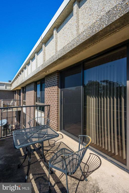 Outdoor Balcony - 1808 OLD MEADOW RD #1416, MCLEAN