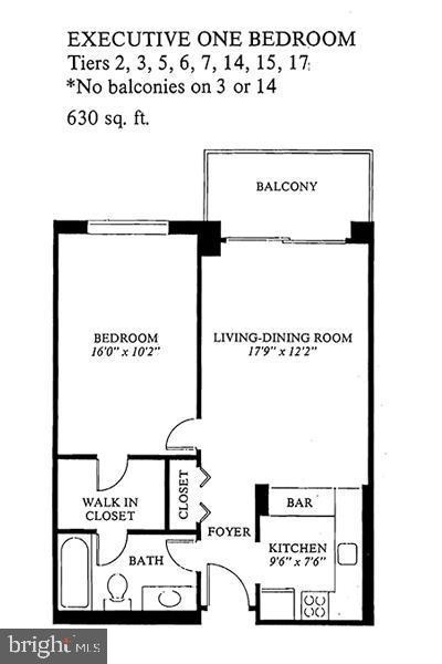 Floor Plan - 5225 POOKS HILL RD #707N, BETHESDA