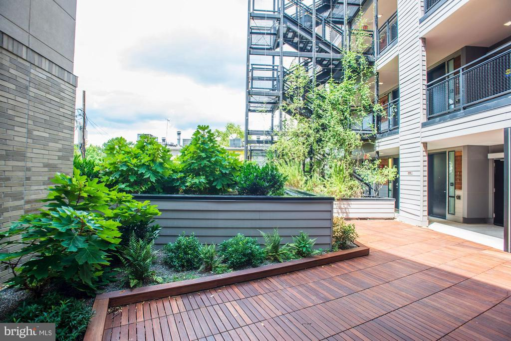 Ipe Decking Throughout Outdoor Common Areas - 1550 11TH ST NW #303, WASHINGTON