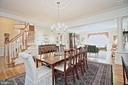 Formal Dining Room - 10121 COMMUNITY LN, FAIRFAX STATION