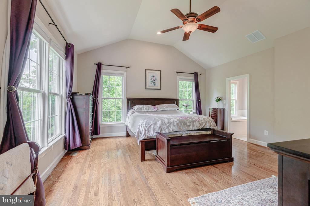 The owners suite is spacious with lots of windows - 5621 GLENWOOD DR, ALEXANDRIA