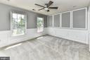 Bedroom 2 showcases trim detail! - 47426 RIVERBANK FOREST PL, STERLING