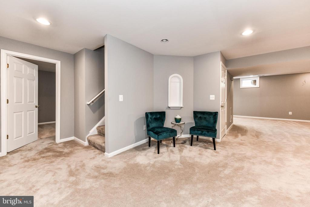 Finished basement provides addl entertaining space - 47426 RIVERBANK FOREST PL, STERLING