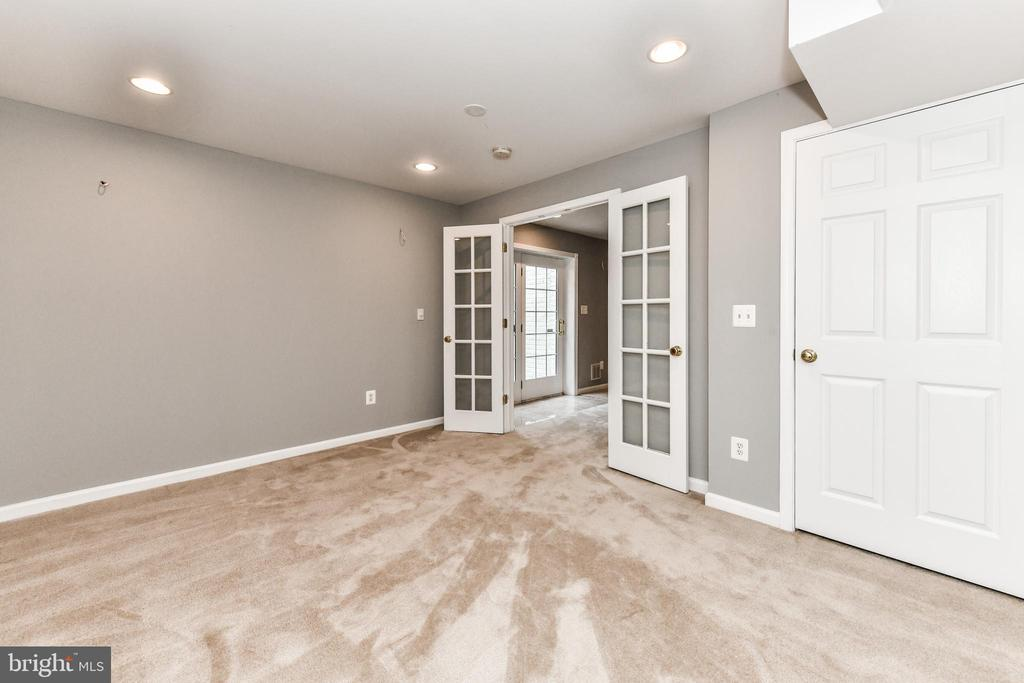 Bonus Room showcases glass doors - 47426 RIVERBANK FOREST PL, STERLING
