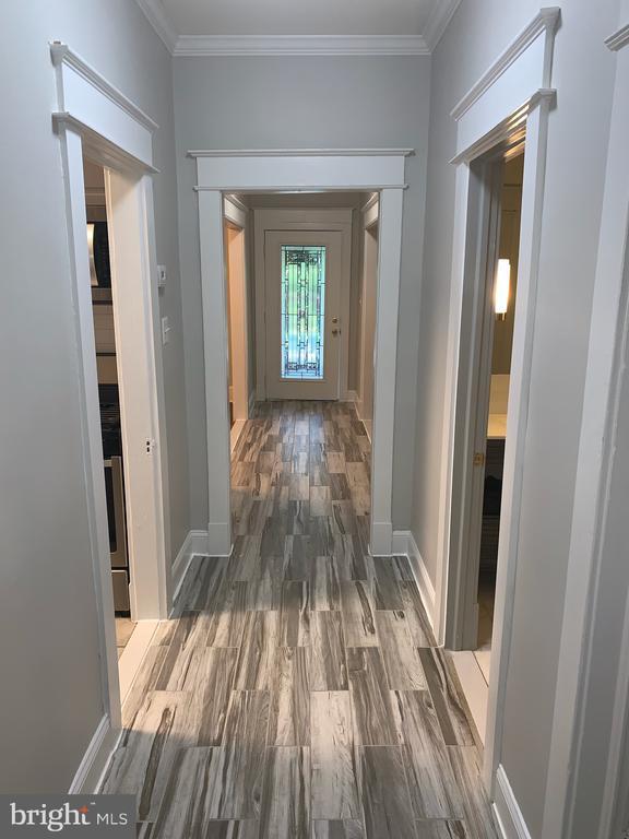 Main level hallway - 1307 LONGFELLOW ST NW, WASHINGTON