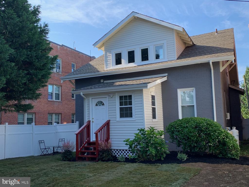 Backyard - 1307 LONGFELLOW ST NW, WASHINGTON