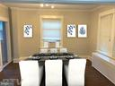 Dining Room - 1307 LONGFELLOW ST NW, WASHINGTON