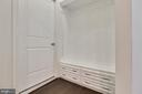 Mudroom with Custom Shelving - 20 EISENTOWN DR, LOVETTSVILLE
