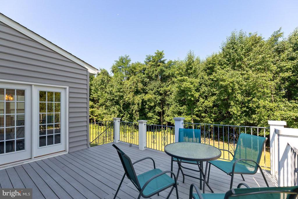 Composite Deck with Stairs - 20 EISENTOWN DR, LOVETTSVILLE