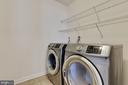 Laundry Room on the Bedroom Level - 20 EISENTOWN DR, LOVETTSVILLE